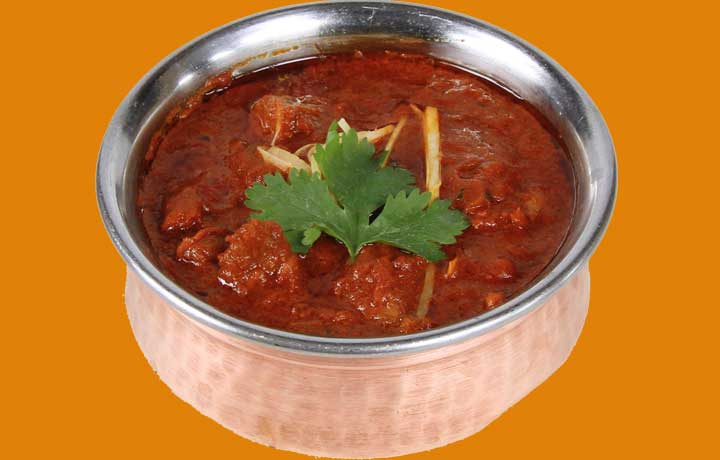 Lamb Roganjosh of The Copper Chimney